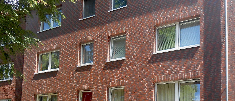 Immobilienverwaltung von Immobilien mit Rotklinger Nachkriegsbauten bis in die 1970er Jahre