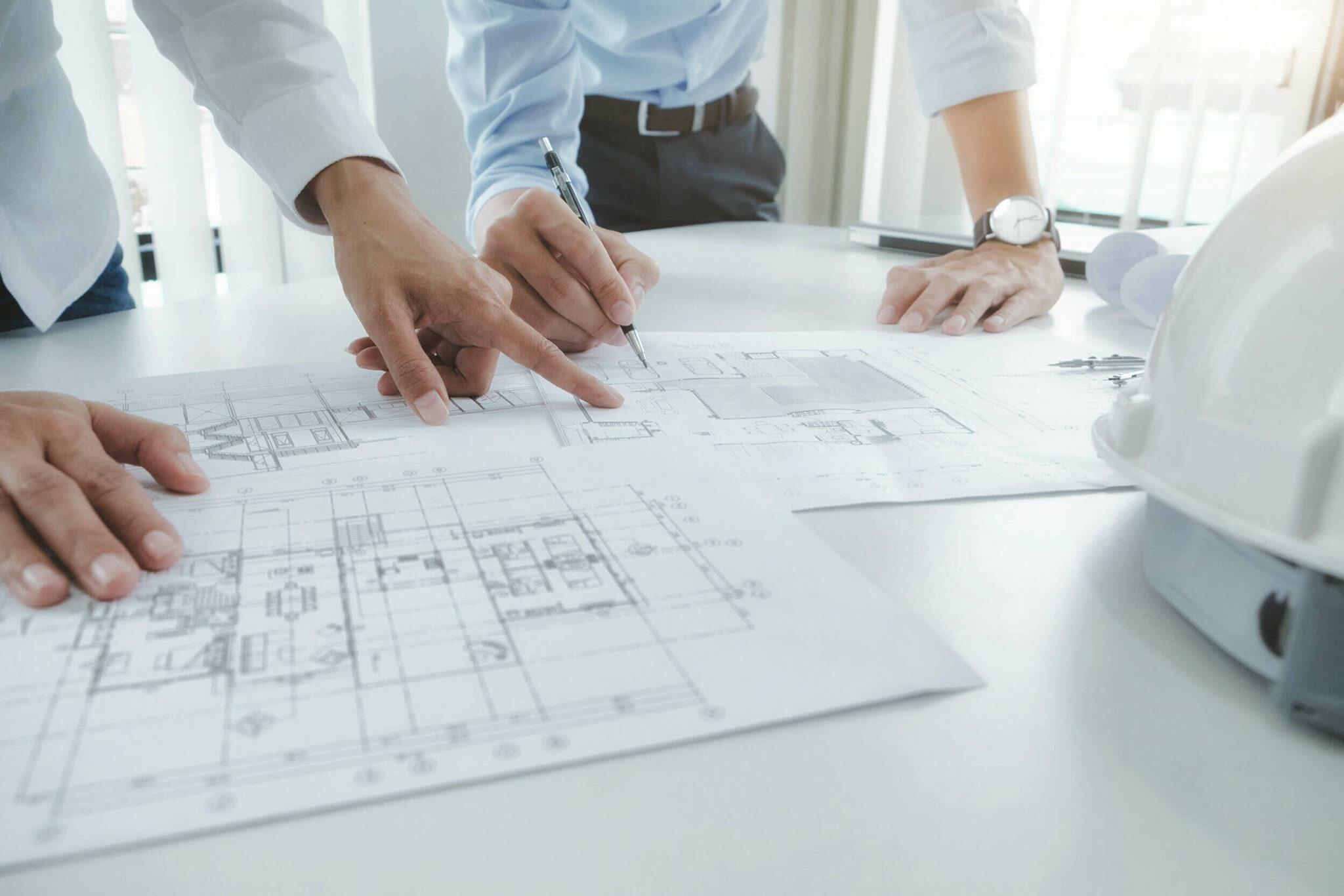 Paul Juul – Immobilienverwaltung – Grundstücksverwaltung – Blick auf die Grundrisse